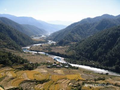 Trekking in Bhutan Reisfelder