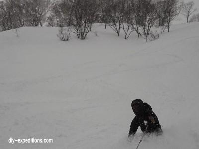 Skitouren in Hokkaido