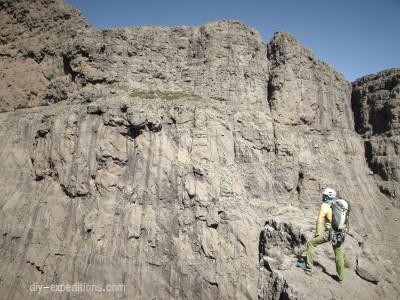 Klettern in den Drakensbergen
