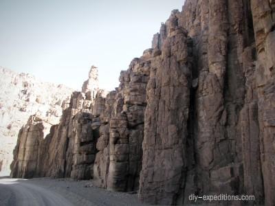 Dolorit in Namibia