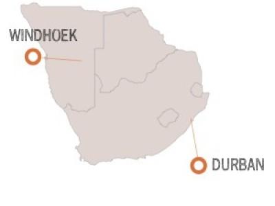 Expeditionen in Südafrika
