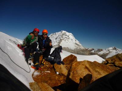 am Huapi, Cordillera Blanca